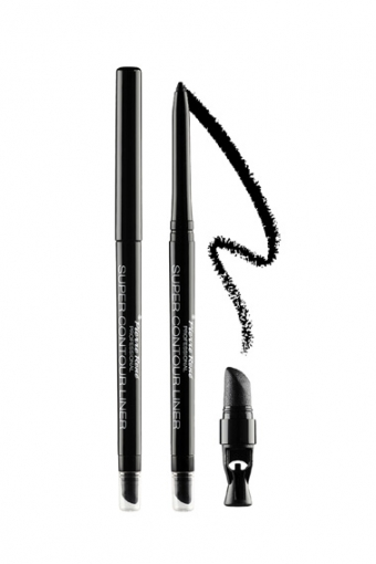 Contour Liner Водостойкий карандаш-лайнер с растушевкой (черный)
