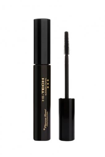 HI-TECH Mascara Тушь разделение и объем с силиконовой щеточкой (черная)